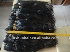 NON TRIMMED FLAT TOP HAIR - UNWASHED ORIGINAL PREMIUM QUALITY REMY HAIR BULK