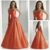 2012 Fashion Sweetheart Ball Gown Long Sleeveless Evening Dress Gown Designer