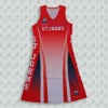 Womens sublimation netball uniforms design
