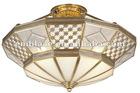 Copper ceiling lamp pendant lamp W580XH290mm-M