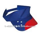 100% cotton sun visor cap/visor cap/sunhat with embroidery custom logo