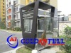 Prefab security guard house steel sentry box & sentry box house & modular steel house
