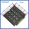 coin phone keyboard for door and public phone
