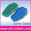 Rubber Massage Grooming Brush