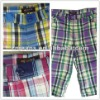 2012 fashion style men plaid beach shorts|board shorts
