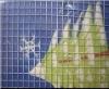 2*2 Galvanized square welded wire mesh rolls supplier
