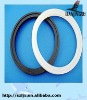 Custom shaped glass rubber gasket for bottles