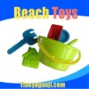 summer plastic beach sand toy