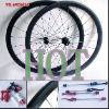 700C Full Carbon Wheel set/Clincher Wheelset/38mm/Shimano or Campagnolo cassette body/Chosen hub
