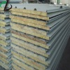 Rock wool sandwich tile for prefabricated house