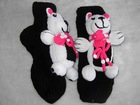 Animal knitted slipper socks