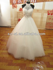2013 Real Dress Cheap Ball Gown Floor Length Crystal Tulle Bridal Gown/Wedding Dresses SL-0356