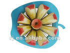 2012new design fashion plastic apple piler cut fruit apple cut
