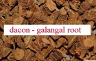 Dried Galangal root ( Alpina officinarum)