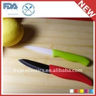72mm 3inch White Black Color Handle Ceramic Paring Knife
