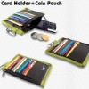 credit card holder, wallet,small pouch