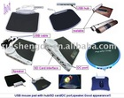 Fashion USB Pad with Blue backlight