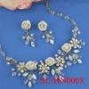 Handmade bridal jewelry set