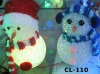 christmas decoration lighting led lighted plastic snowman X-MAS snowman outdoor Decoration