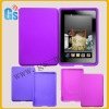 Violet Silicone Case For Kindle Fire