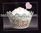 fleur de lis cupcake wrapper