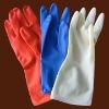 household latex gloves (dip /spray flocked lined)