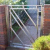 Glass Stainless steel gate-6