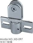 Shower/bathroom zinc alloy door hinge