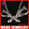 buttfly alloy pendant necklace