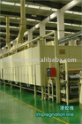 Horizontal Impregnation line (decorative/balance/kraft paper....)