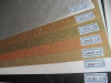 PVC wood grain decorative sheet(Mono color with embossed texture 21 series)
