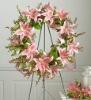 Flower Wreath Easels