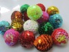25mm Charm beautiful sequin ball beads christmas design wholesales