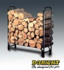 High quality Log Rack with black powder coated.