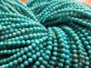 natural turquoise round beads 3mm