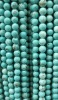 Synthetic Turquoise Round Bead