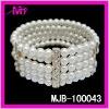 wholesale imitation jewelry fashion pearl bracelets & bangles