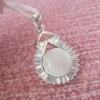 The Cat's Eye Gemstone Charm Pendant z101001agmy