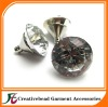 high quality glass crystal sofa button