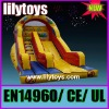 party slide with digital paint cartoon