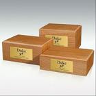 OAK wood pet Urns L/M/S size