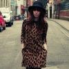 fashion leopard printed dress