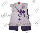 Girl's wear 100%cotton with embroidery