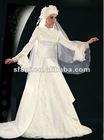 Gorgeous Muslim Wedding Dress 2013