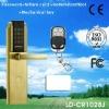 Remote control gate lock