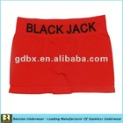 Microfiber black jack underwear boxers