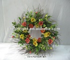 artificial flower wreath for spring decoration