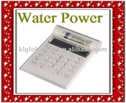 Promotional 8-Digit Green Water Power Electronic Digital Calculator