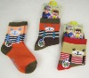 young girls and boys socks ,kids wholesale socks for 4-7years old