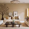Fashion wall stickers and decals in large size